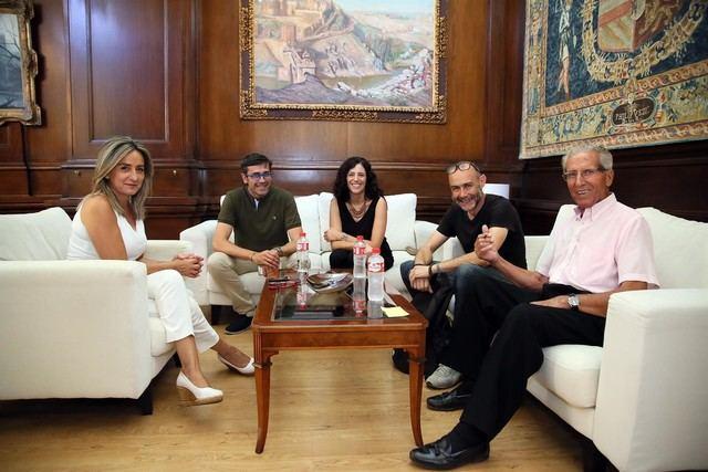 Imagen de la reunión en el Ayuntamiento de Toledo / Europa Press