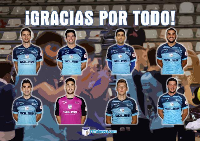 El Soliss FS Talavera comunica la baja de varios jugadores