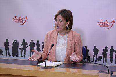 """Blanca Fernández: """"Núñez demostrará su falta de liderazgo si no consigue apoyo a la Constitución"""""""