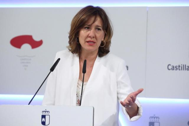 La consejera Blanca Fernández.