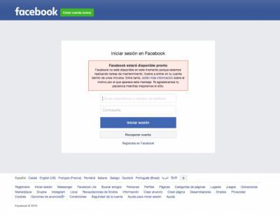 Caída de Facebook e Instagram a nivel mundial en la web y en sus 'apps'