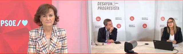 DESAYUNO PROGRESISTA | Calvo acompaña a García-Page