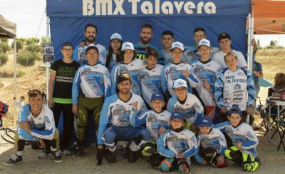 Nueve podios para el BMX Talavera en la Copa CLM