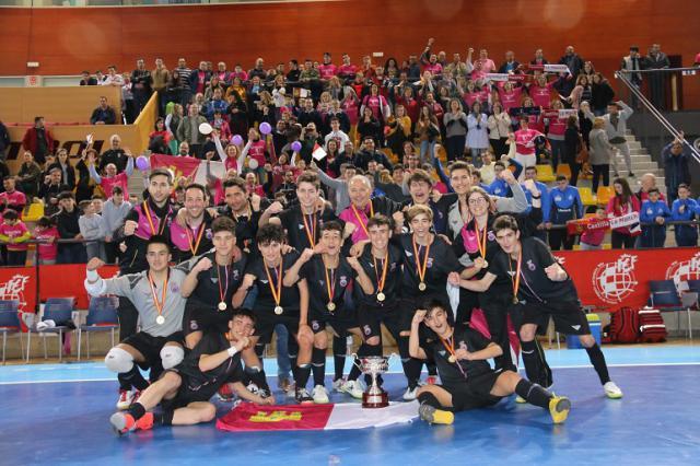 Castilla-La Mancha Sub 16, campeona de España