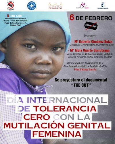 Jornada de prevención y sensibilización con motivo del Día Internacional de Tolerancia Cero con la Mutilación Genital Femenina