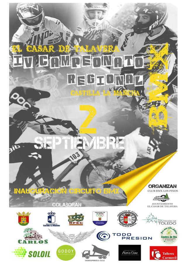 El Circuito Municipal de BMX en El Casar de Talavera acogerá el Campeonato Regional
