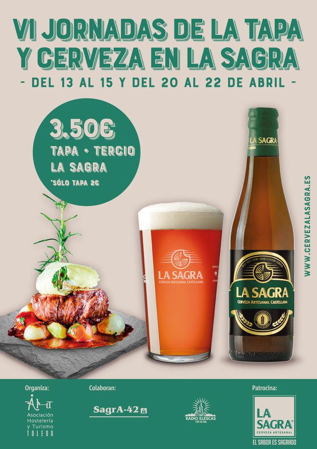 Abierto el plazo para inscribirse en las Jornadas de la Tapa y Cerveza de La Sagra