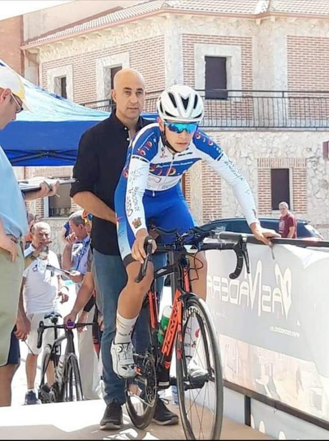 El ciclista talaverano