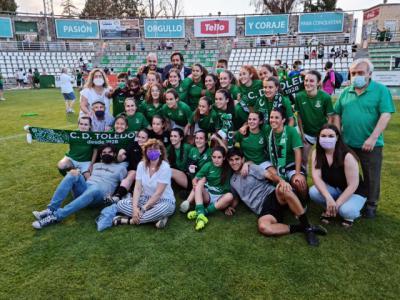 Las chicas del CD Toledo ya son de Primera División