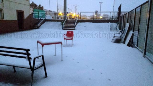 VIDEO | ¿Quieres ver la nevada en Cebolla y el campo del Torpedo 66 totalmente blanco?