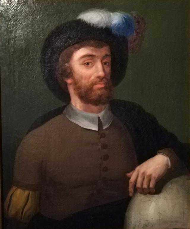 Retrato del marinero Elcano.