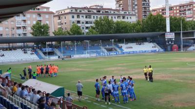 Empate a todo entre CF Talavera y Rayo Majadahonda