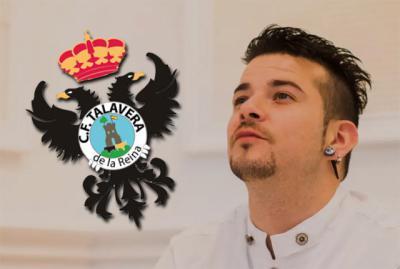 CF TALAVERA | La nueva camiseta blanquiazul, con Carlos Maldonado como padrino