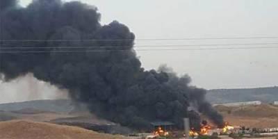 Extinguido el incendio de la planta de reciclaje de Chiloeches (Guadalajara)