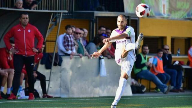 El lateral con la camiseta del Real Jaén