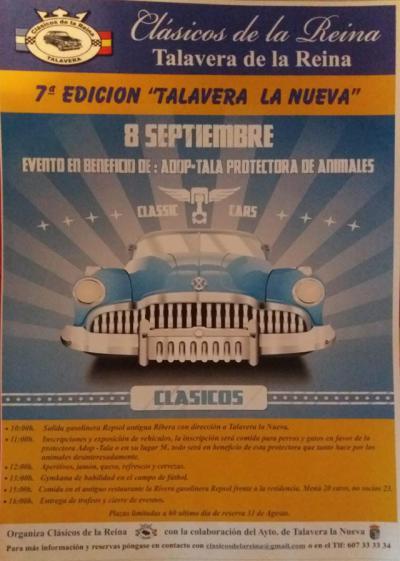 """Talavera la Nueva acoge el día 8 el solidario """"Clásico de la Reina"""""""