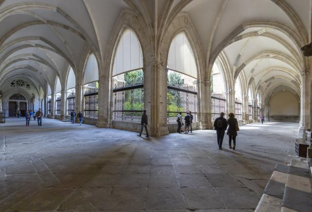 Claustro de la catedral toledana