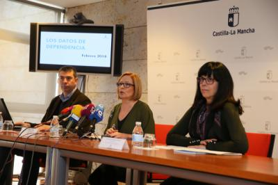 La directora general de Atención a la Dependencia, Ana Saavedra, presenta los datos de Dependencia