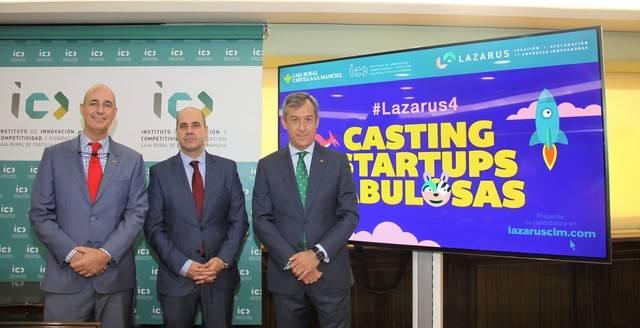 """La Fundación Caja Rural Castilla-La Mancha abre la 4ª edición de """"Lazarus"""""""