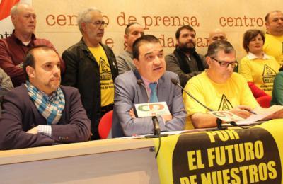 El consejero de Agricultura, Medio Ambiente y Desarrollo Rural ha asistido a la rueda de prensa en defensa de Castilla-La Mancha libre de fracking