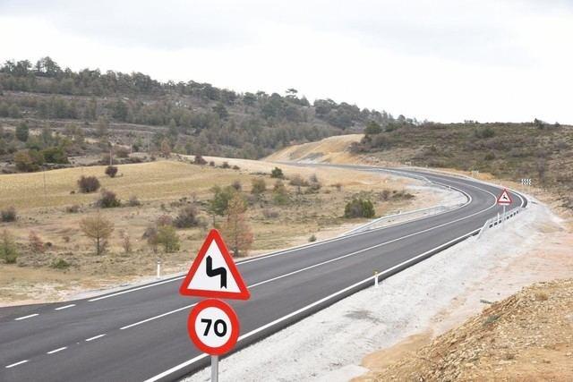 Dos heridos graves y seis leves en los siete accidentes registrados este fin de semana en Castilla-La Mancha
