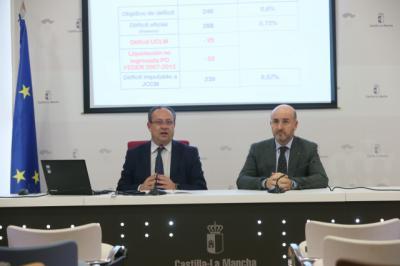 CLM incumplió el objetivo de déficit y lo achaca a la UCLM y la liquidación de Fondos FEDER
