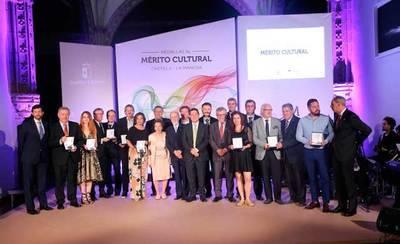 Castilla la Mancha entrega las Medallas al Mérito Cultural