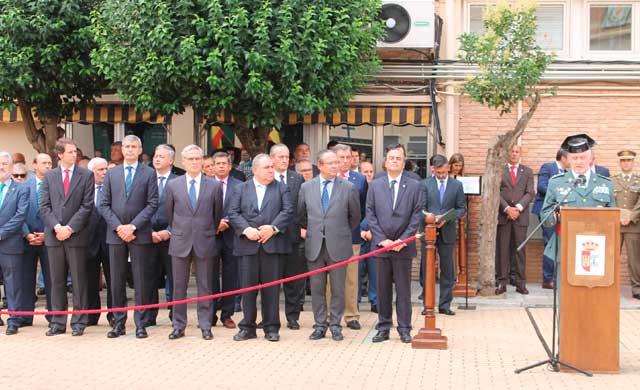 Álvaro Gutiérrez felicita al nuevo jefe de la 2ª zona de la Guardia Civil de CLM