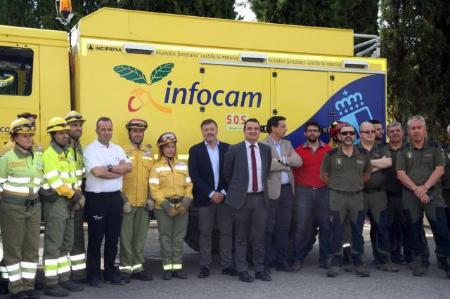 CLM afronta la campaña de incendios con 3.000 efectivos y mejorando las infraestructuras de extinción