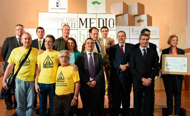 CLM entrega el I Premio de Medio Ambiente al Proyecto 'LIFE+Iberlince'