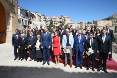 El Rey Felipe entrega los Premios Nacionales de Cultura 2016 en la Catedral de Cuenca