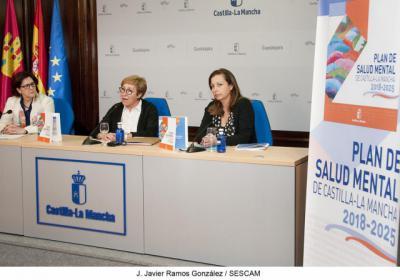 El Plan de Salud Mental de Castilla-La Mancha 2018-2025 aumentará los recursos
