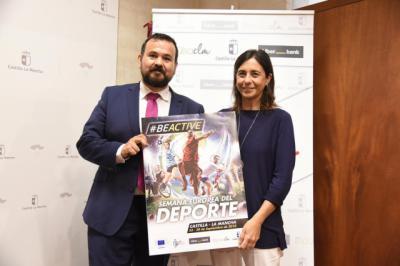 Castilla-La Mancha volverá a ser un referente en la Semana Europea del Deporte