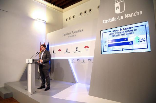 El portavoz del Gobierno regional, Nacho Hernando, informa de los acuerdos del Consejo de Gobierno.