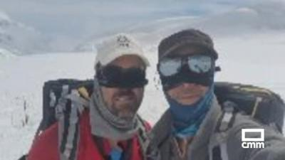 Dos hermanos toledanos coronan con éxito la cumbre más alta de América del Norte