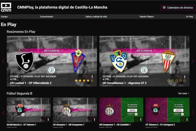La Federación de Fútbol de Castilla-La Mancha premia a CMMPLAY
