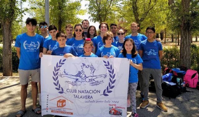 El Club Natación Talavera sigue mejorando sus marcas