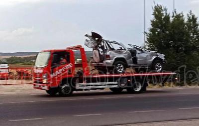 IMPACTANTE | Así quedó el vehículo del accidente de este jueves en Pepino