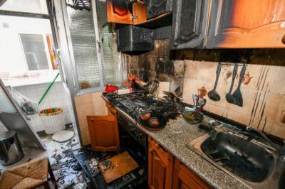 Fuego en mi cocina