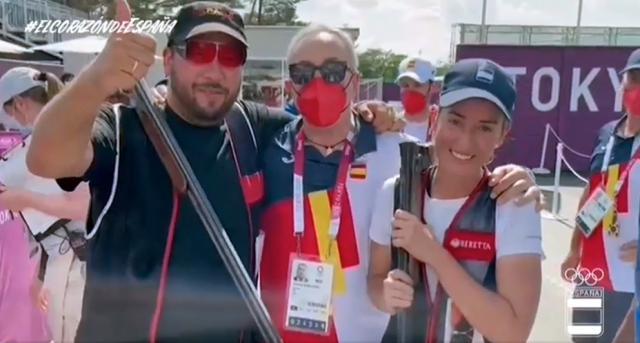 La felicitación del presidente del COE a Alberto Fernández y Fátima Gálvez por su oro