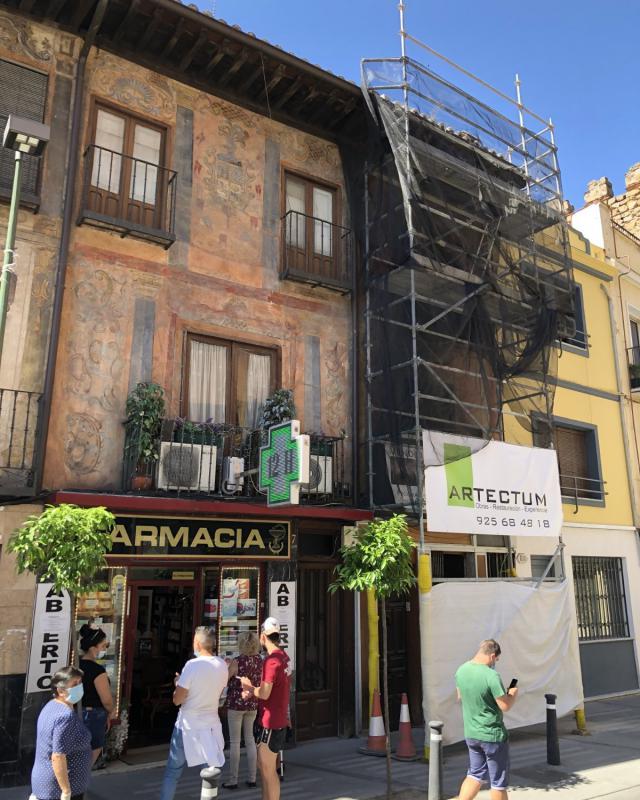 FOTOS   Descubren un tesoro oculto de la historia de Talavera