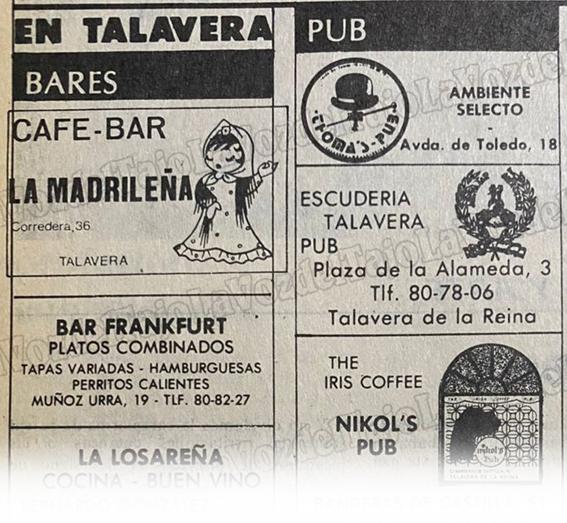 LA VOZ DEL RECUERDO | Si eres de Talavera y tienes más de 38 años... esto te suena