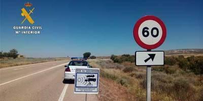 Detenido por circular a 227 km/h en la Autovía de los Viñedos a la altura de Madridejos