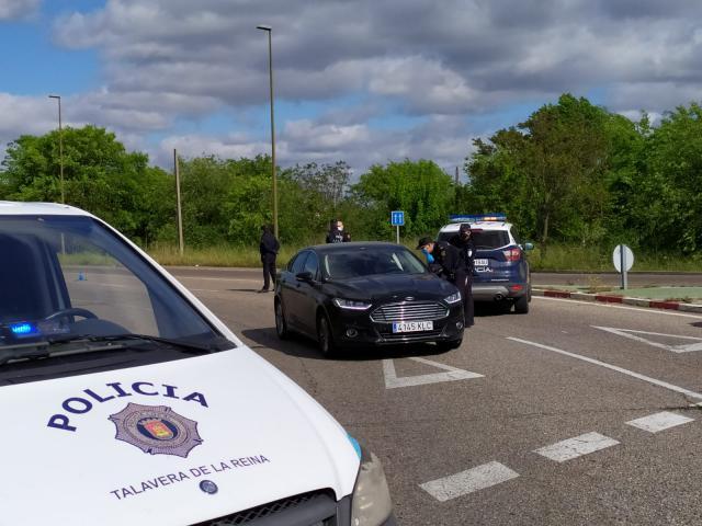 TALAVERA | Controles conjuntos de Policía Local y Nacional en salidas y entradas de la ciudad
