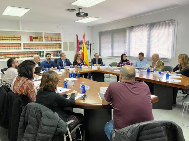 Imagen de la reunión en Cuenca.