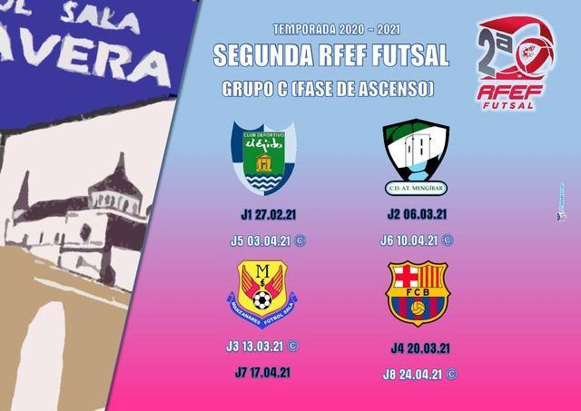 FUTSAL I Este es el calendario de la fase de ascenso del Soliss FS Talavera