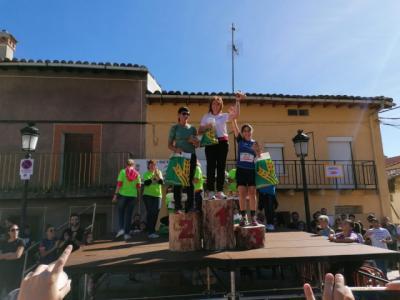 """La """"Espartana"""" María José Curiel gana el III Trail """"Calamochos"""" de Casavieja"""