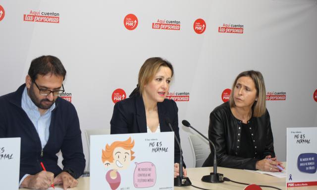 Sergio junto a Maestre y Montse Muro.