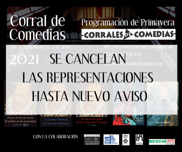 CULTURA | Canceladas las representaciones teatrales en el Corral de Comedias de Almagro