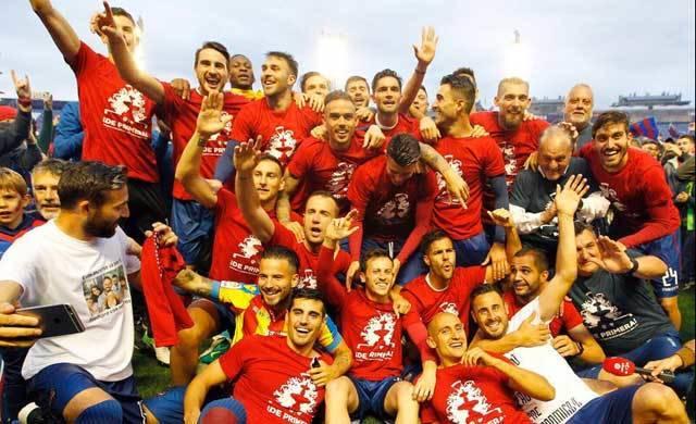 Javier Espinosa vuelve con el Levante U.D. a la LigaSantader